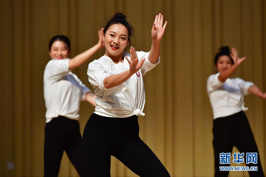 (教育)(4)全国中小学舞蹈教师培优计划(甘肃站)举行结业展示