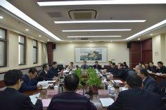 武威市委市政府与省文旅厅座谈对接工作